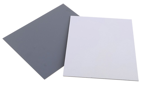"""Set of 2 8"""" x 10 """" white balance/exposure cards - 18% grey and 90% white for color calibration"""