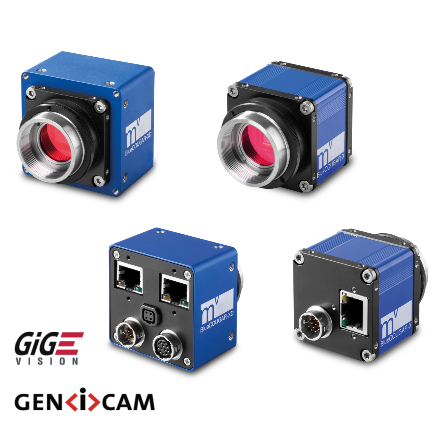 GigE / Dual GigE cameras with Smart Features