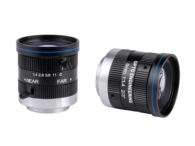 Cost-effective 2 Megapixel fixed focal length lenses for sensors up to 2/3""