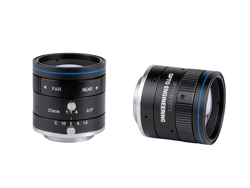 Fixed focal 2 Megapixel lens, focal length 35 mm, f# 1.4 - C, C-mount