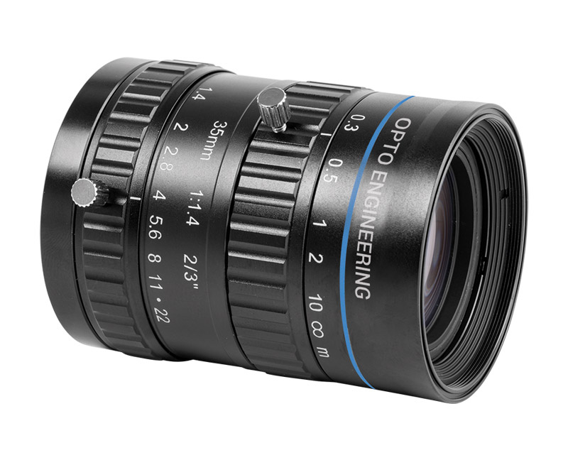 Cost-effective 5 Megapixel fixed focal length lenses for sensors up to 2/3""