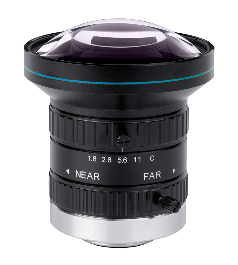 8 Megapixel fixed focal length lenses for sensors up to 1""