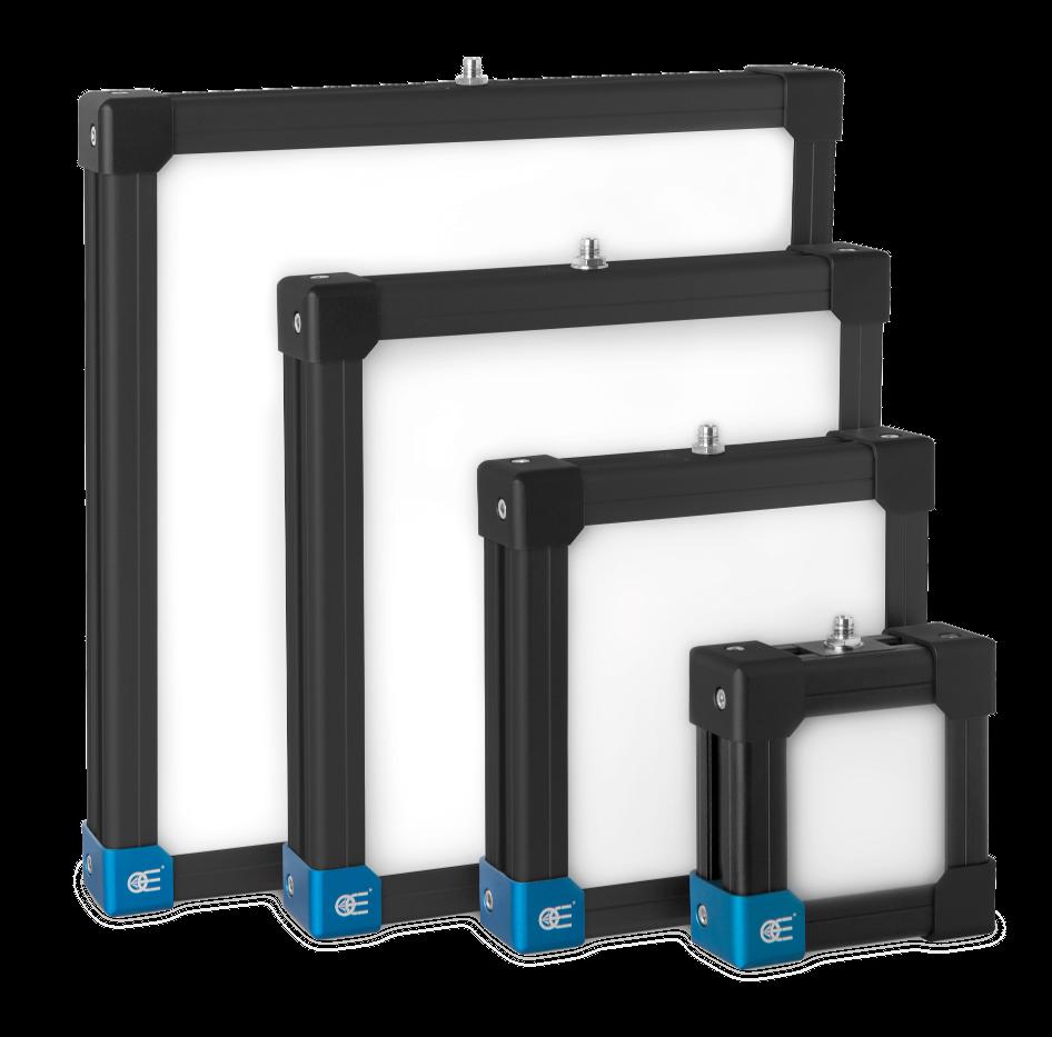 LED Backlight illuminators sizes