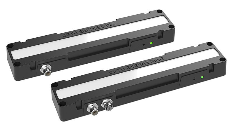 LED bar lights with integrated driving electronics