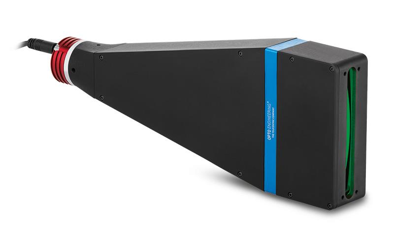 Flat telecentric illuminators for line scan cameras