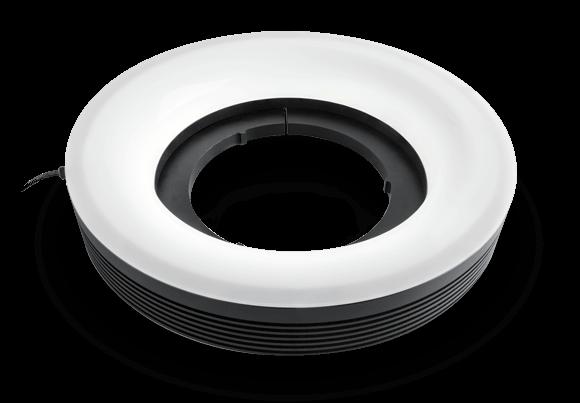LED ring illuminators - oblique type