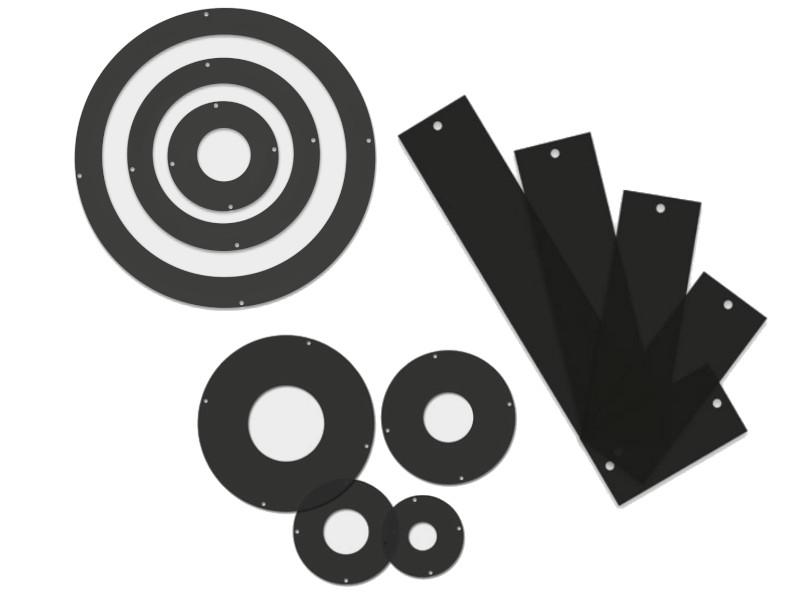 Polarizing plates for lighting