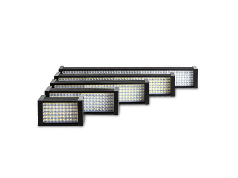 Continuous LED bar lights