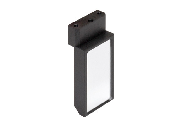 First surface mirror, active area 20x40 mm, mount type 2