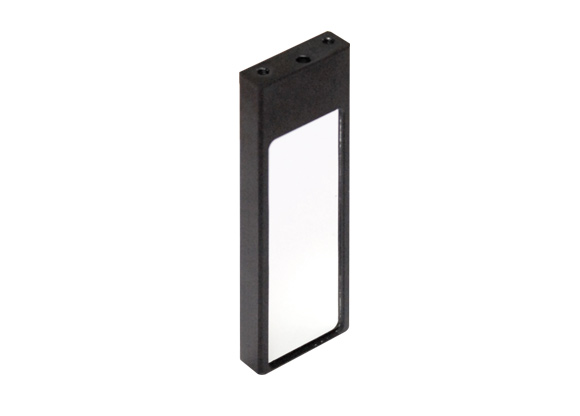 First surface mirror, active area 25x75 mm, mount type 1