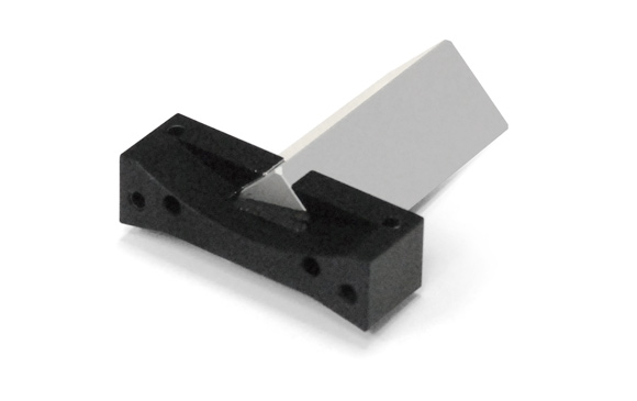 Right angle prism, legs 17 mm, H 39 mm, mirror coating