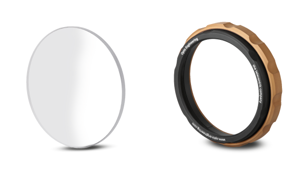 Protective windows for lenses